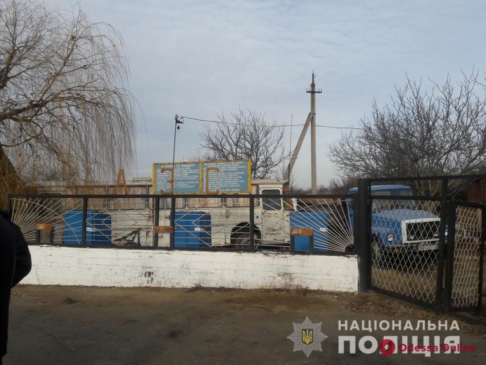 Житель Одесской области торговал бензином во дворе дома