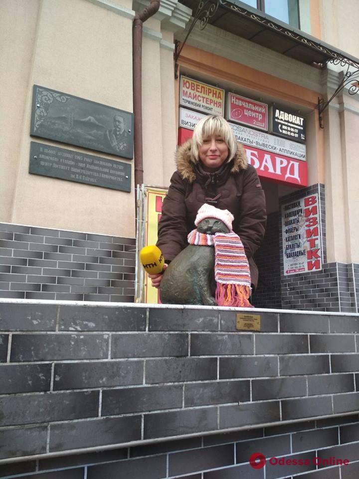 Одесскую кошку Базарину раздели во второй раз