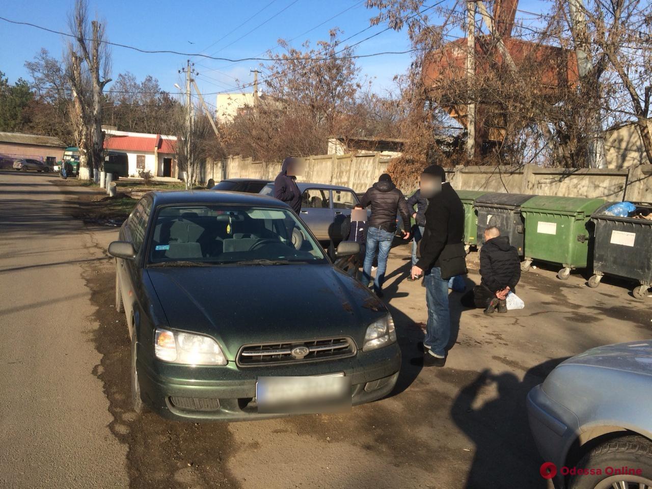 В Овидиопольском районе на горячем «взяли» банду квартирных воров (фото)