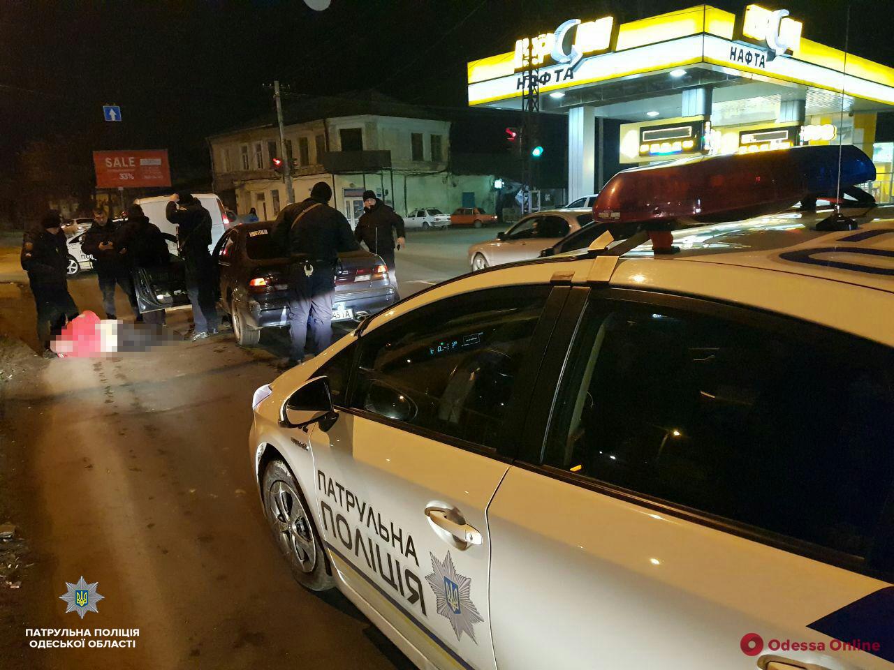 Появилось видео погони и задержания таксиста, ограбившего пассажирку