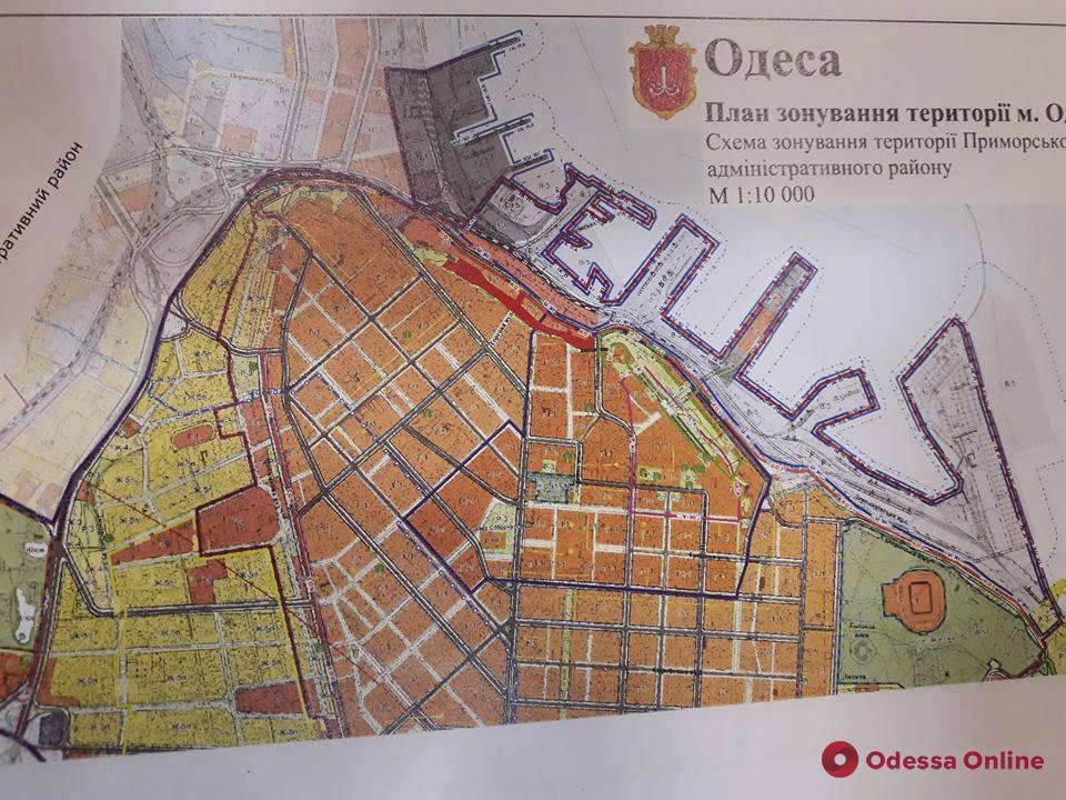 Одесса: склоны под бульваром Жванецкого приведут в порядок