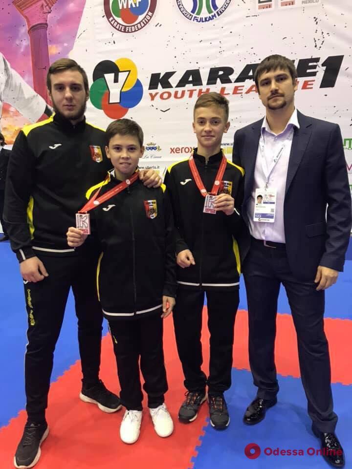 Одесситы завоевали медали престижного международного турнира по каратэ
