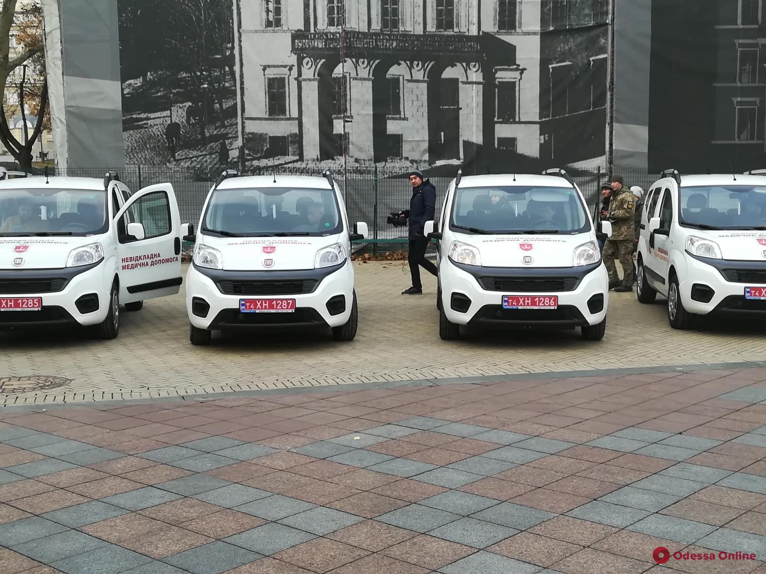 В Одессе закупят еще 18 машин для «неотложки»