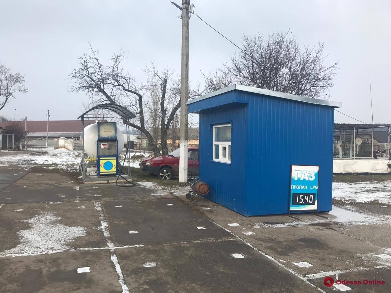 Под Одессой ликвидировали незаконный пункт сбыта сжиженного газа