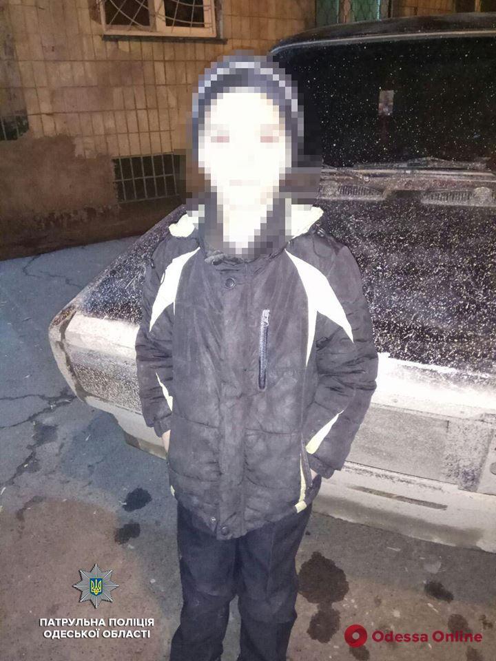 Одесские патрульные вернули домой 8-летнего мальчика