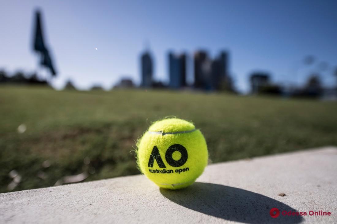 Теннис: две одесситки вышли во второй раунд Australian Open