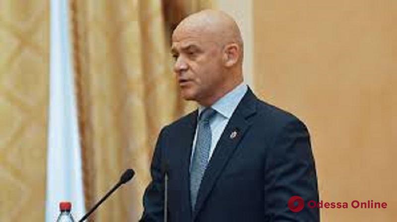 Мэр Одессы попал под санкции РФ