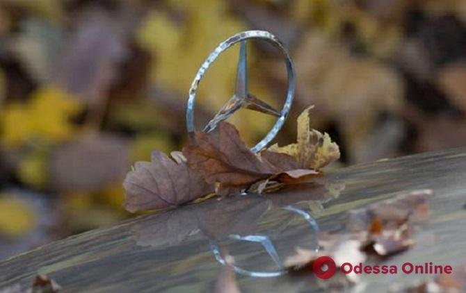 В Одессе автовор-гастролер угнал Mercedes