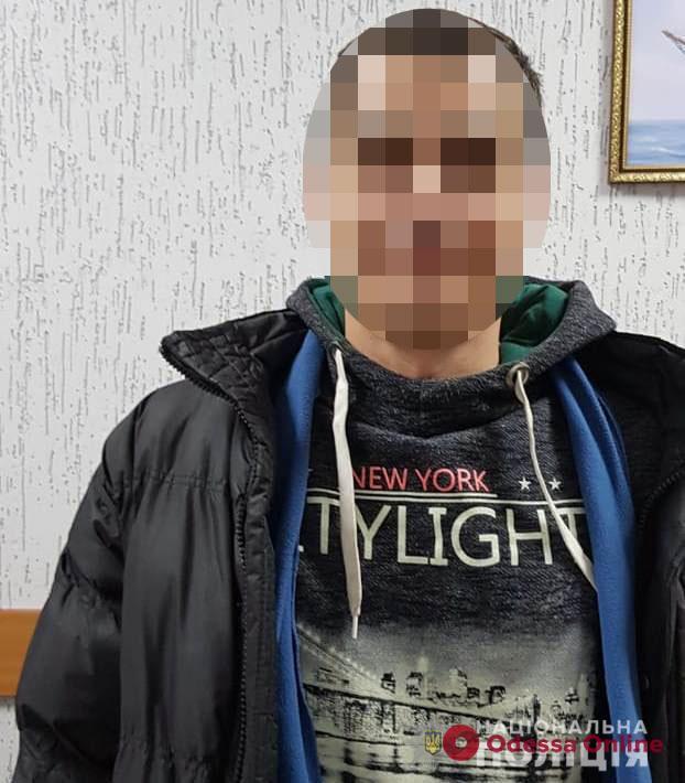 В Одесской области задержали разыскиваемого квартирного вора