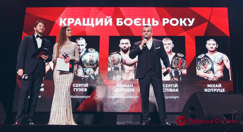 Одесский чемпион мира по смешанным единоборствам признан лучшим бойцом года