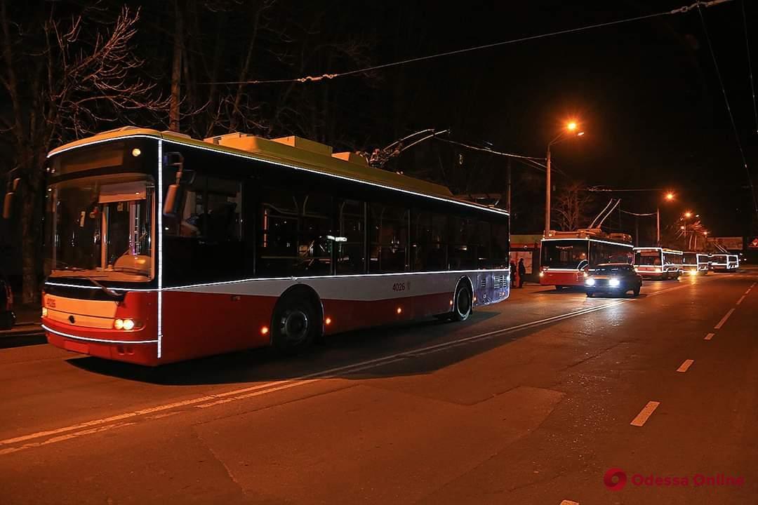 Праздничный парад троллейбусов состоится в Одессе