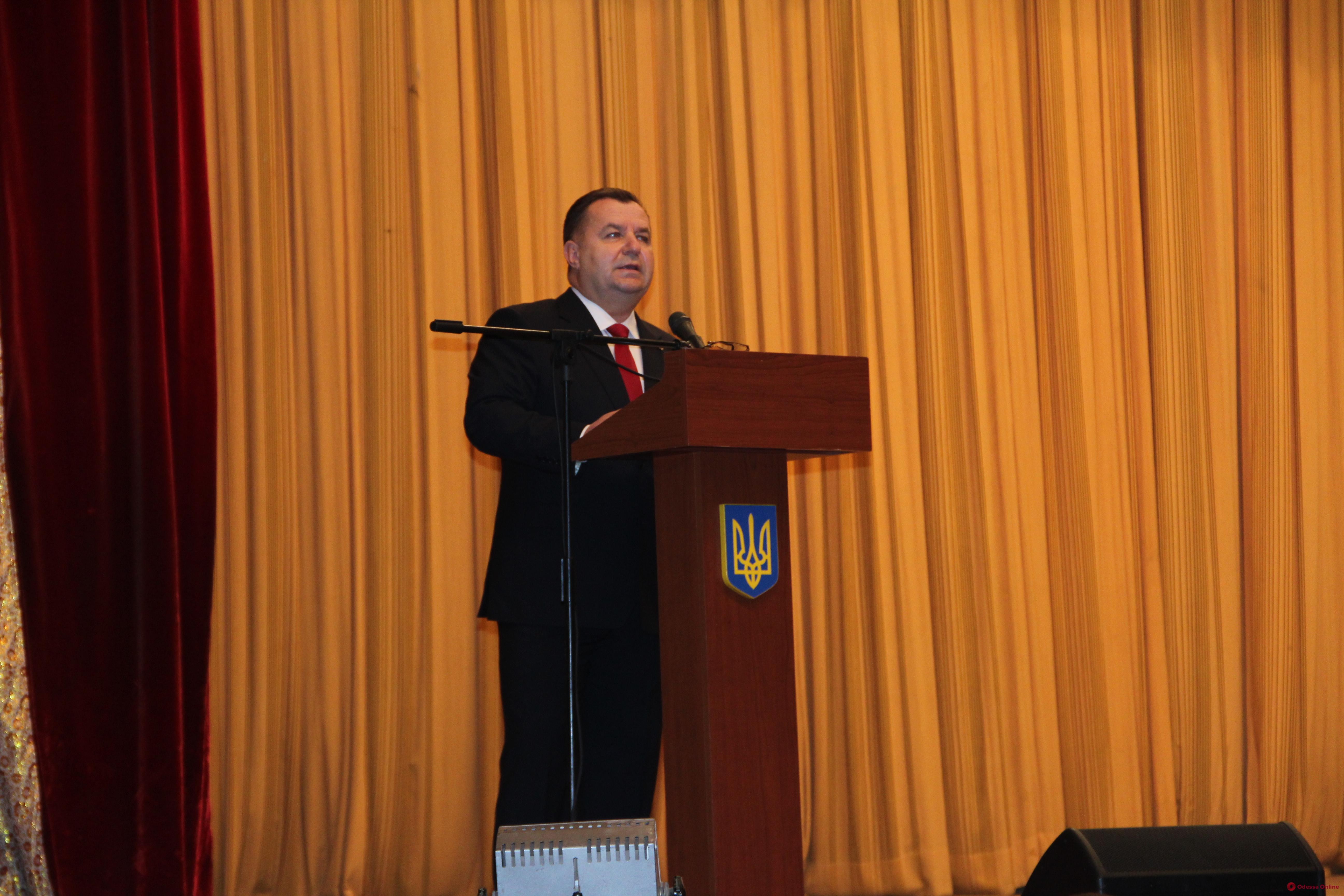 В Одессе министр обороны Полторак рассказал о планах ВМС Украины на следующий год