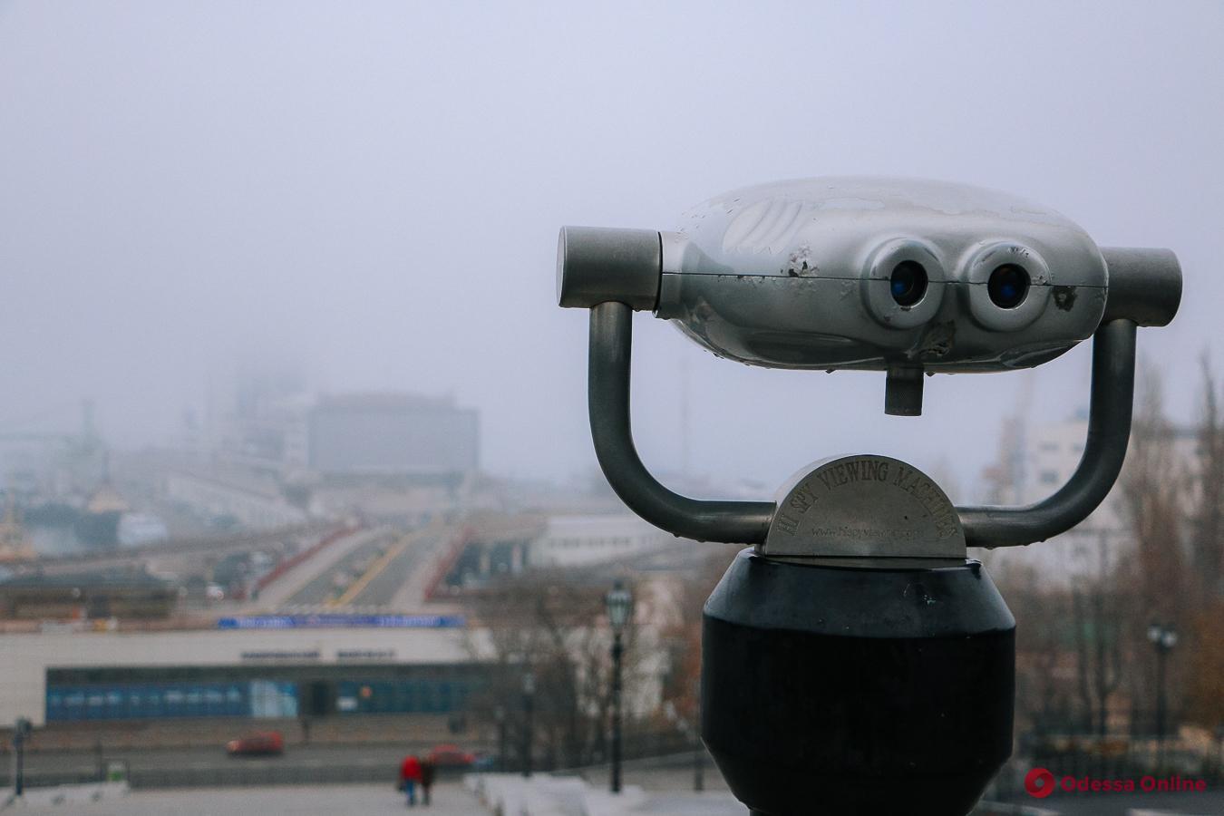 Завтра в Одессе ожидается туман