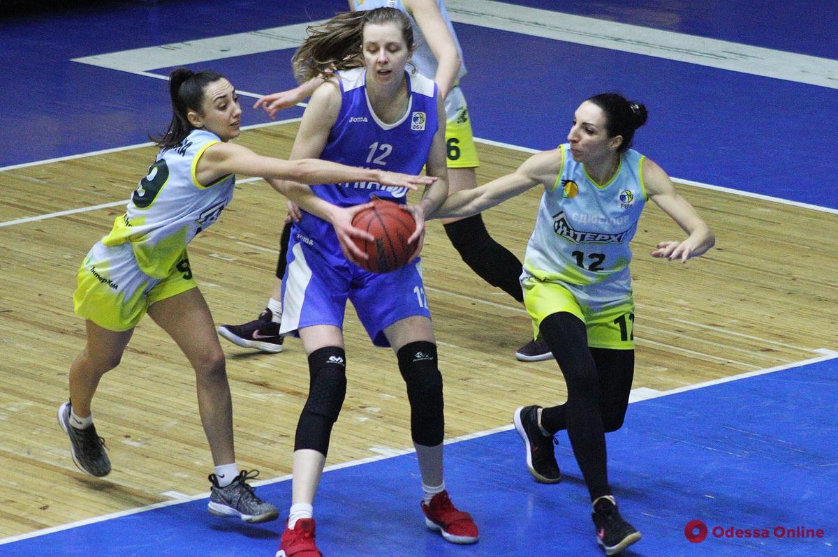 Одесские баскетболистки болезненно проиграли киевскому «Динамо»