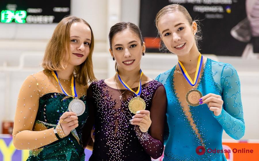 Юная фигуристка принесла Одессе первую медаль чемпионата Украины за 24 года