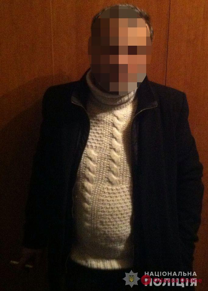 В Одессе иностранец обокрал беременную женщину
