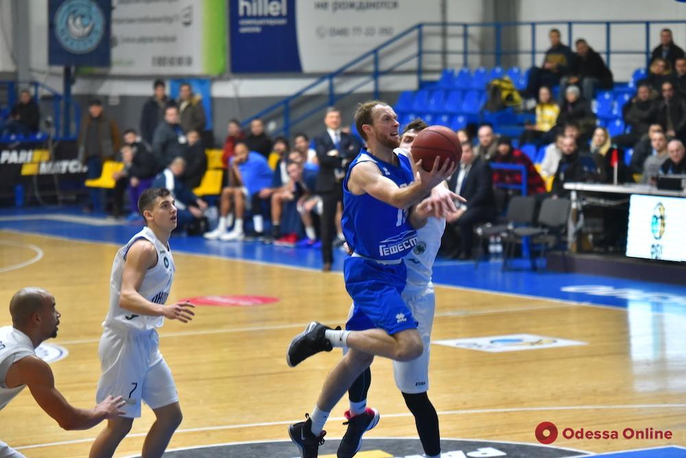 Одесские баскетболисты проиграли, но вышли в полуфинал Кубка Украины