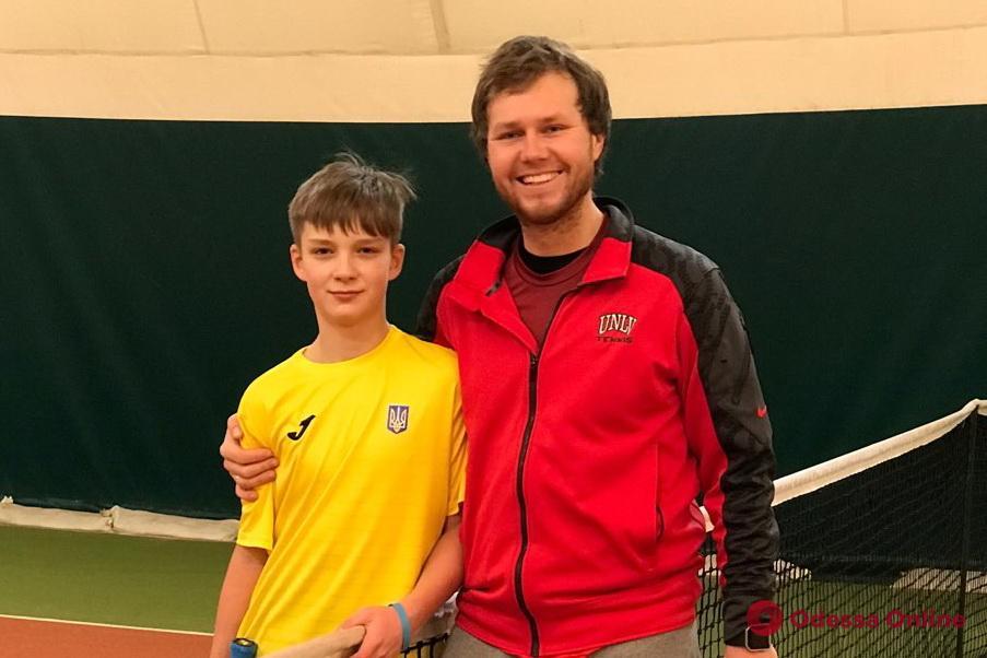 Теннис: юный одессит показал высокие результаты на турнире в Майами