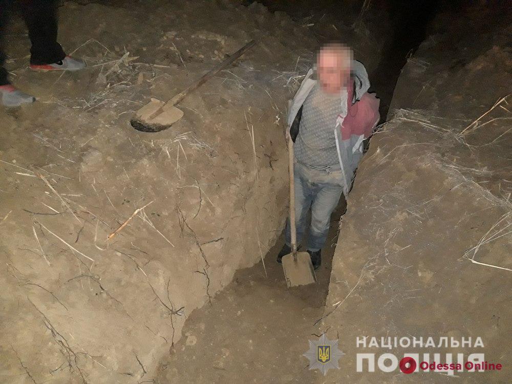 Житель Одесской области пытался украсть водопроводные трубы