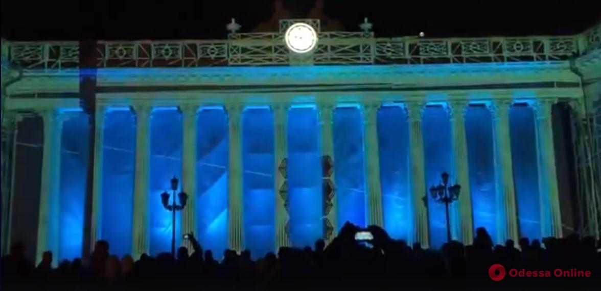 Победителем Odessa Light Fest стал народный ансамбль из столицы (видео)