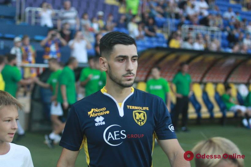 Одесский футболист сменил четвертый клуб за полтора сезона