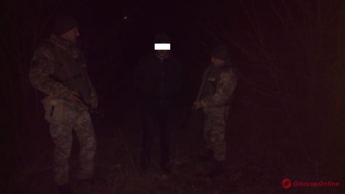В Одесской области турок пытался незаконно пересечь границу