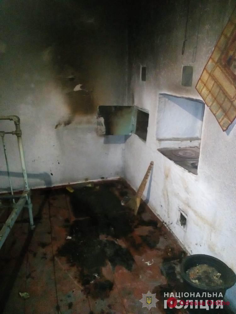 В Одесской области при пожаре погиб ребенок
