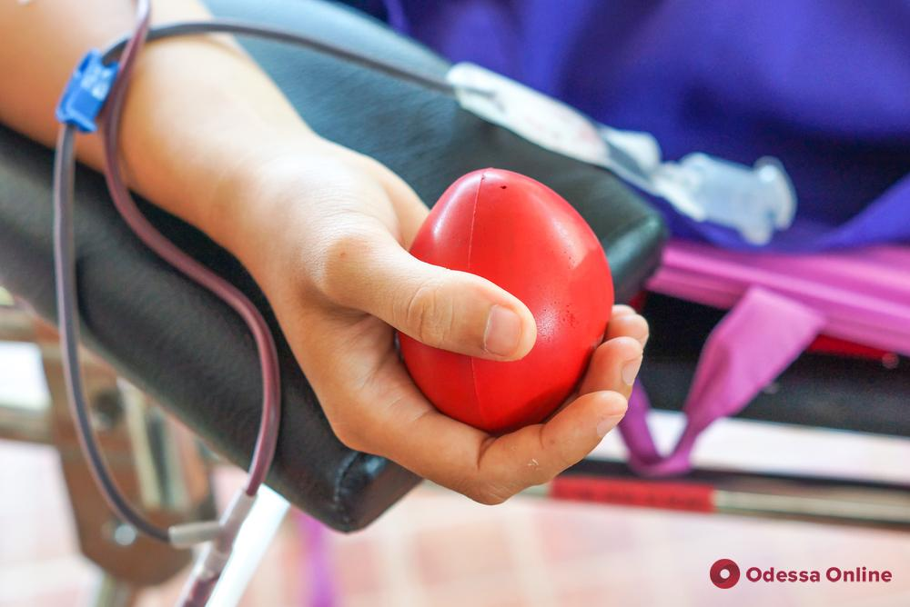 Одесситов приглашают стать донорами крови