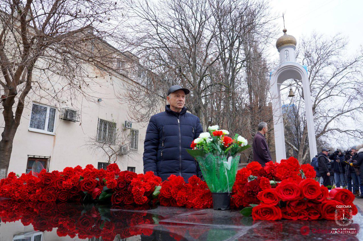 В Одессе почтили память ликвидаторов аварии на ЧАЭС