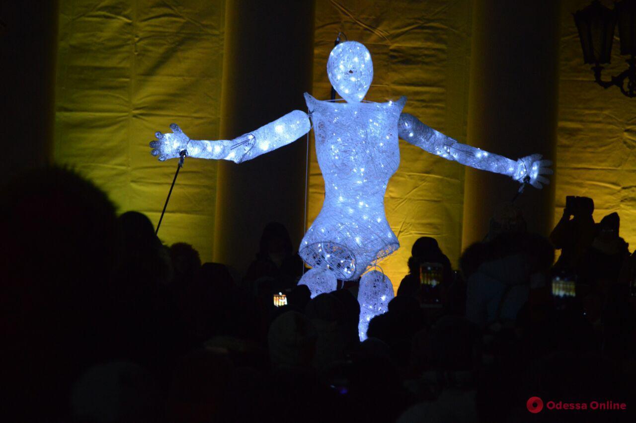 В Одессе стартовал красочный фестиваль света (фото, видео)
