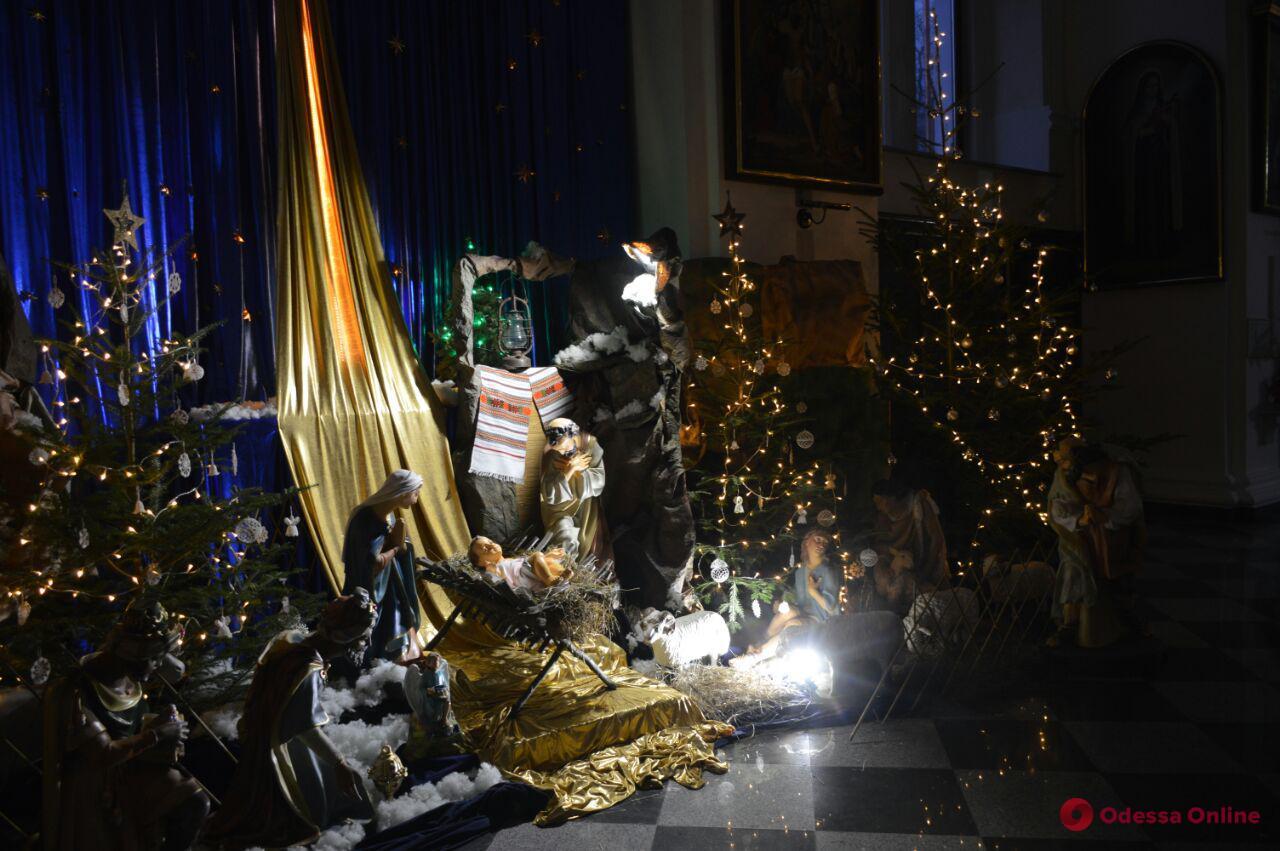 Одесситы отмечают Европейское Рождество