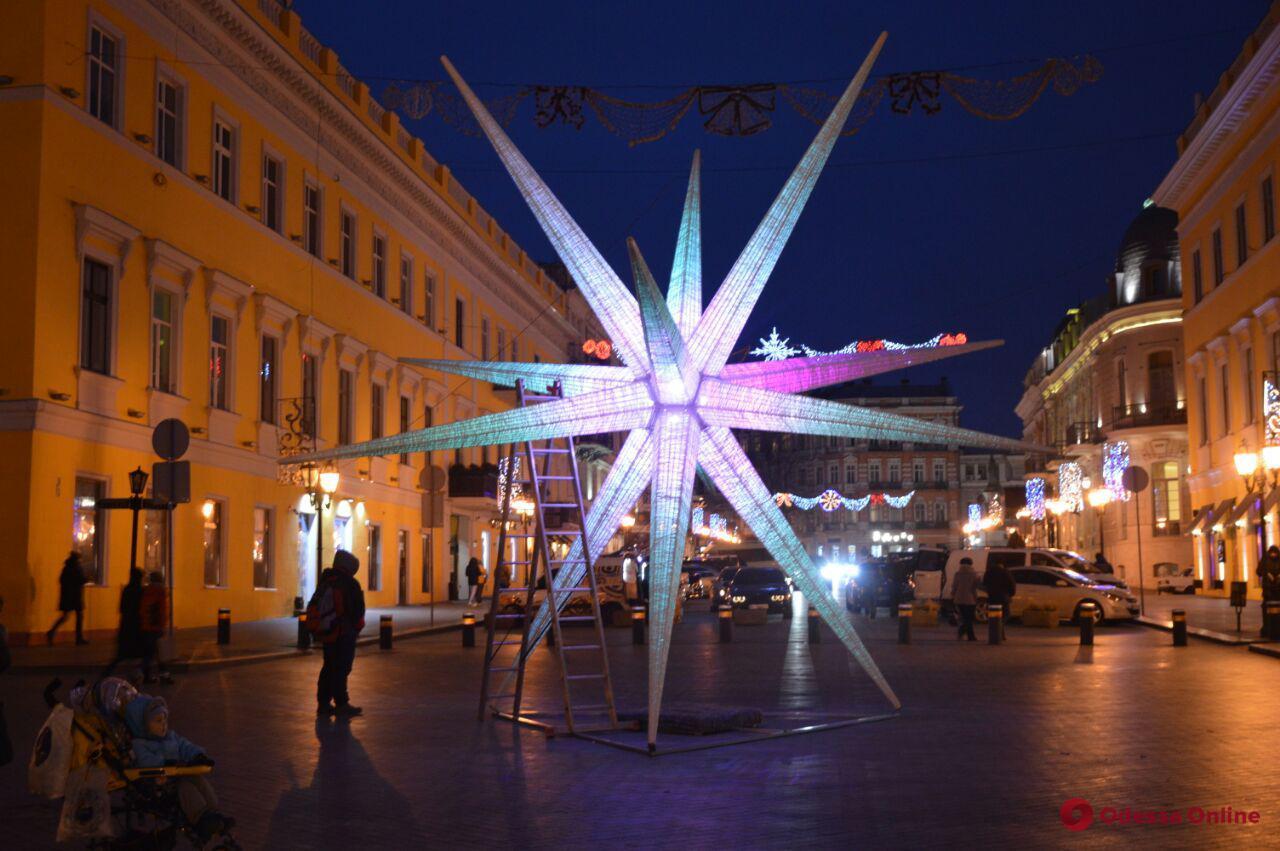Одесскую рождественскую звезду внесли в Национальный реестр рекордов