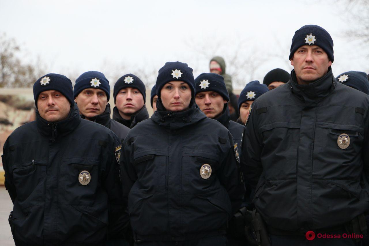 Одесские правоохранители заступили на новогоднее дежурство