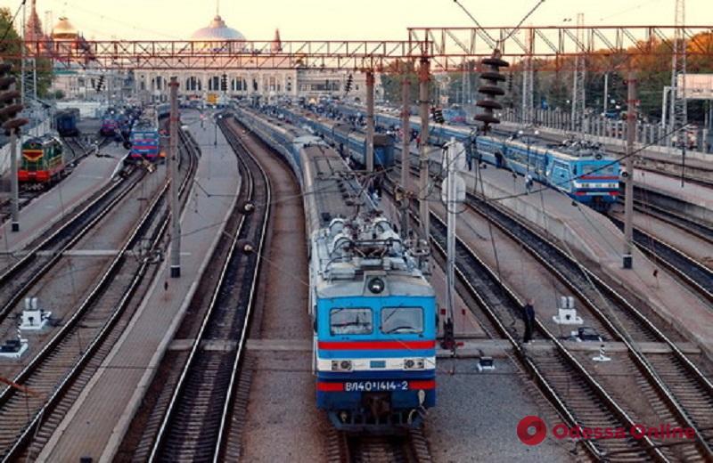 На новогодние праздники отменят несколько поездов одесского направления