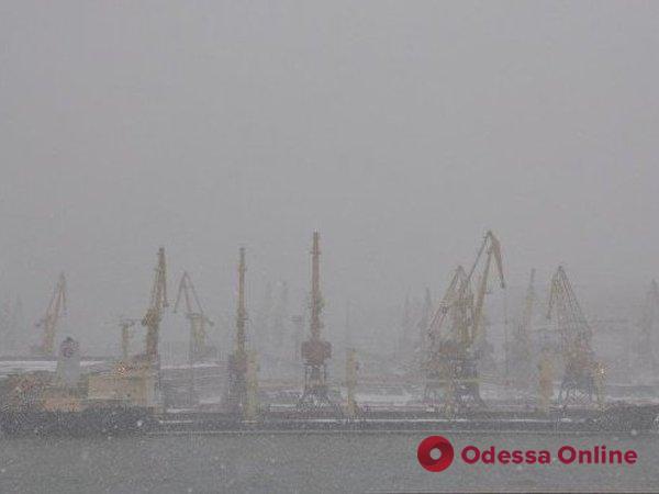 В три порта Одесской области не заходят суда из-за тумана