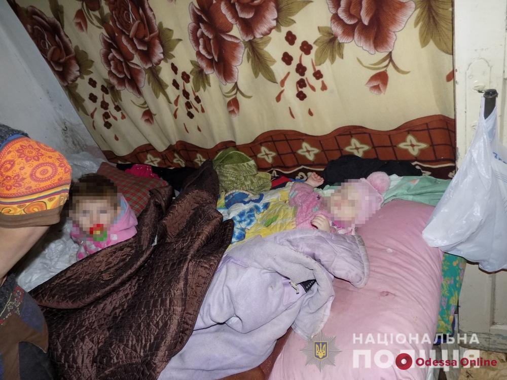 Грязь и беспорядок: в Одесской области у безответственной матери отобрали двух маленьких детей