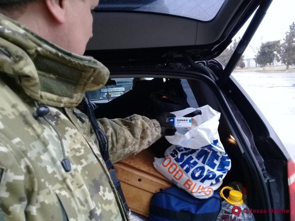 Одесская область: через границу пытались провезти «психотропы»