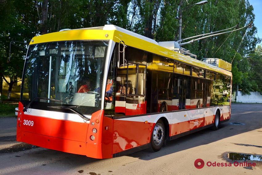 В Одессе некоторые троллейбусы будут ходить иначе