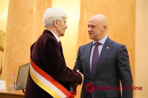 Известного одесского архитектора наградили почетным знаком отличия