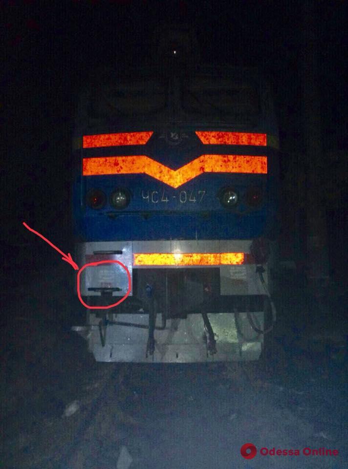 В Одессе поезд сбил женщину