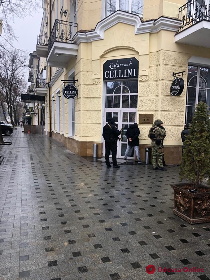 Одесские полицейские сорвали «стрелку» двух преступных группировок