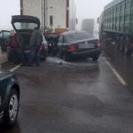 На трассе Киев-Одесса из-за тумана произошло ДТП - есть пострадавшие
