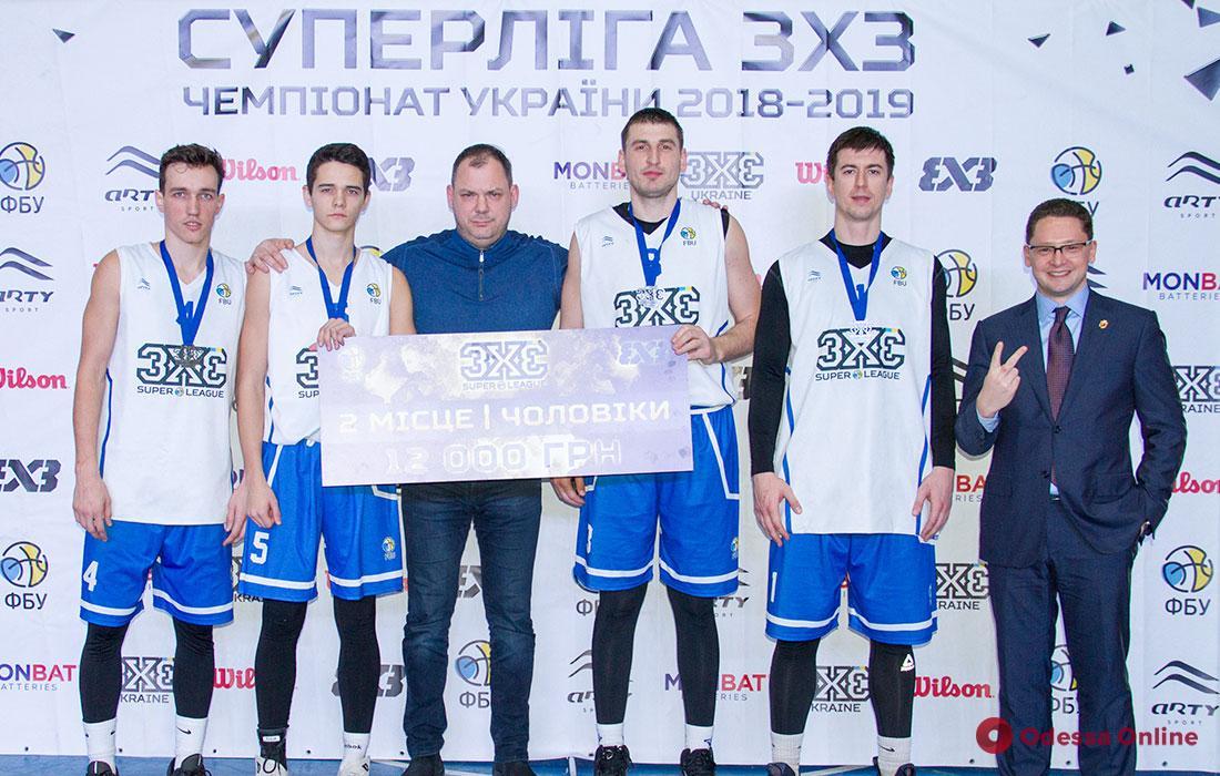 Одесские баскетболисты завоевали «серебро» второго этапа украинской Суперлиги 3х3