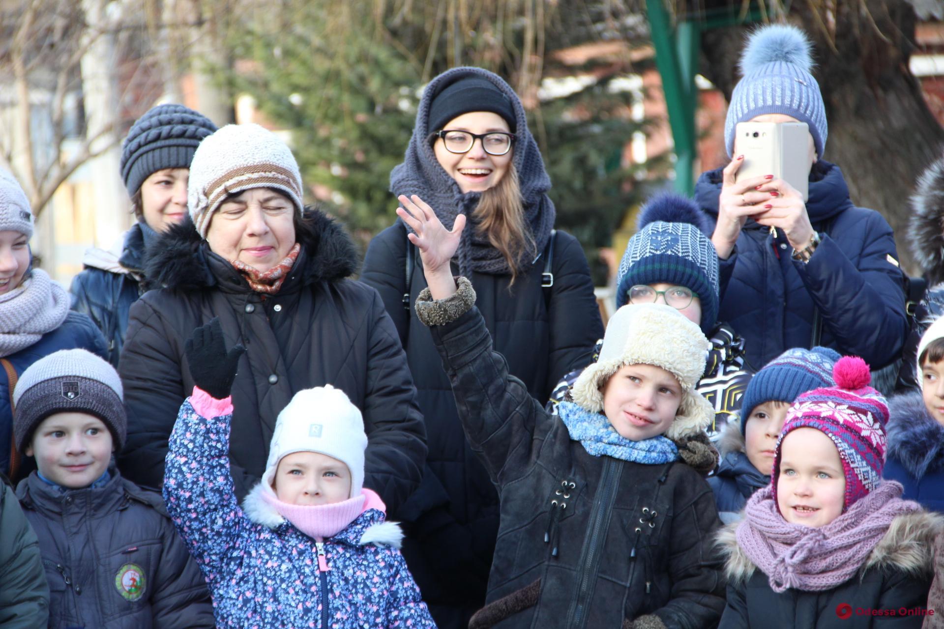 В Одесском зоопарке отпраздновали Рождество