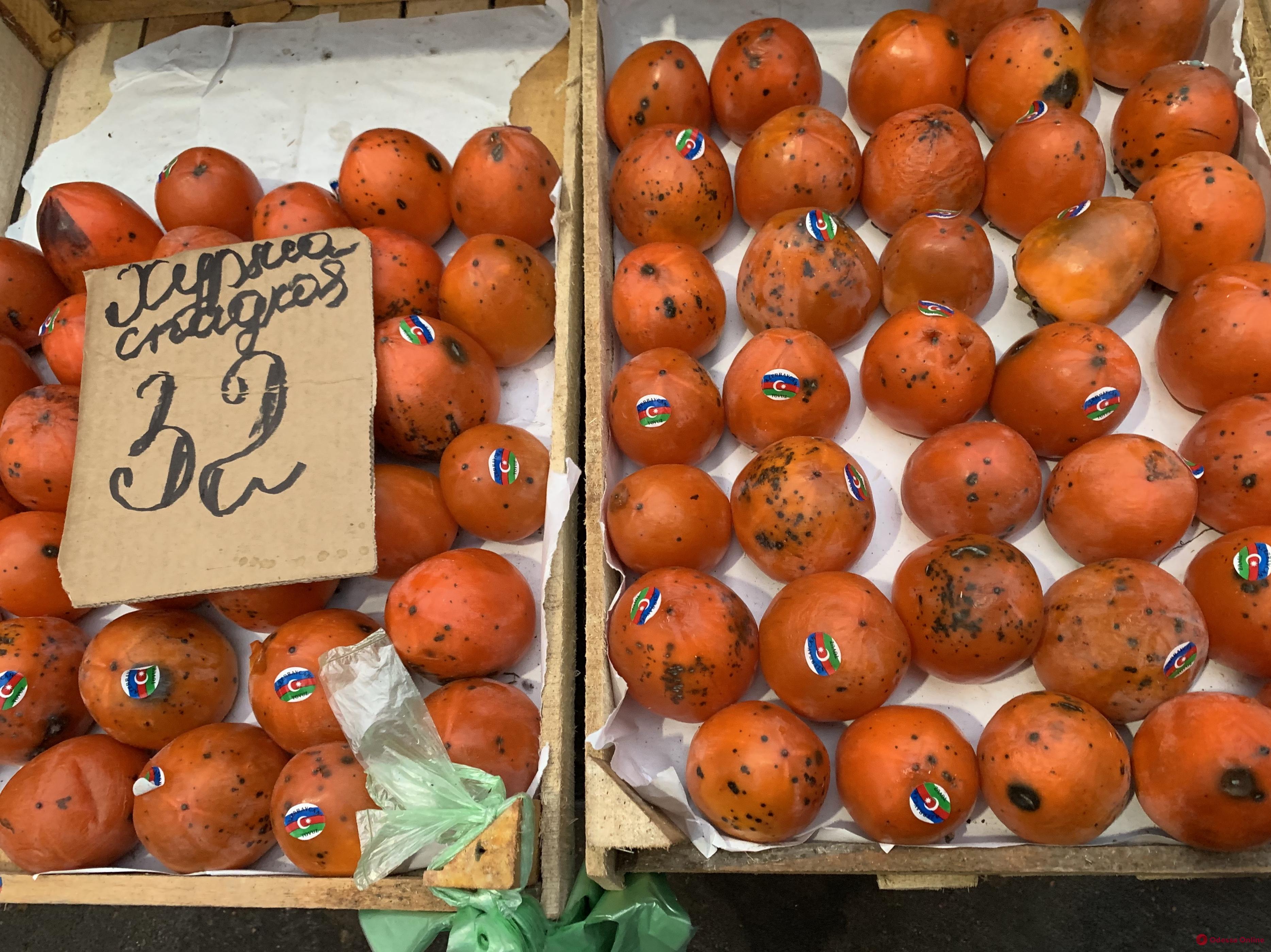 Брокколи, калина и яблоки: воскресные цены на одесском «Привозе»