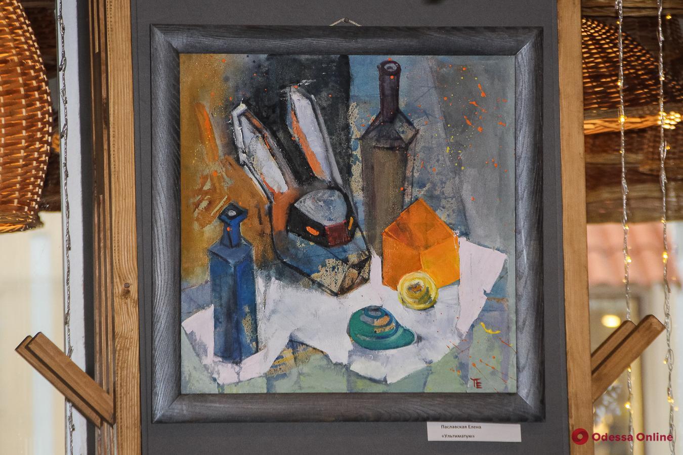 В Одессе открылась выставка художницы Елены Паславской