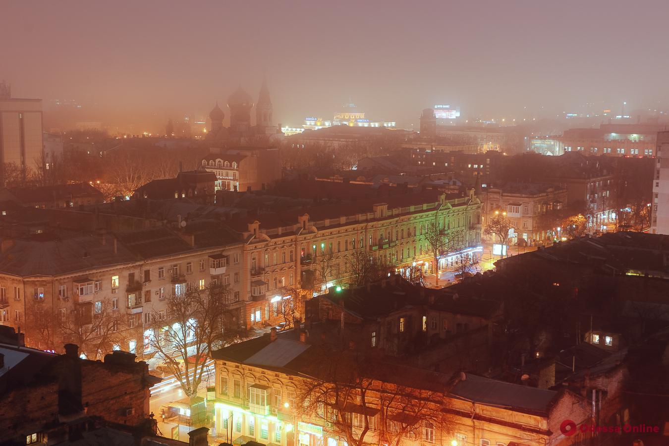 Загадочная ночь над Одессой (фоторепортаж)