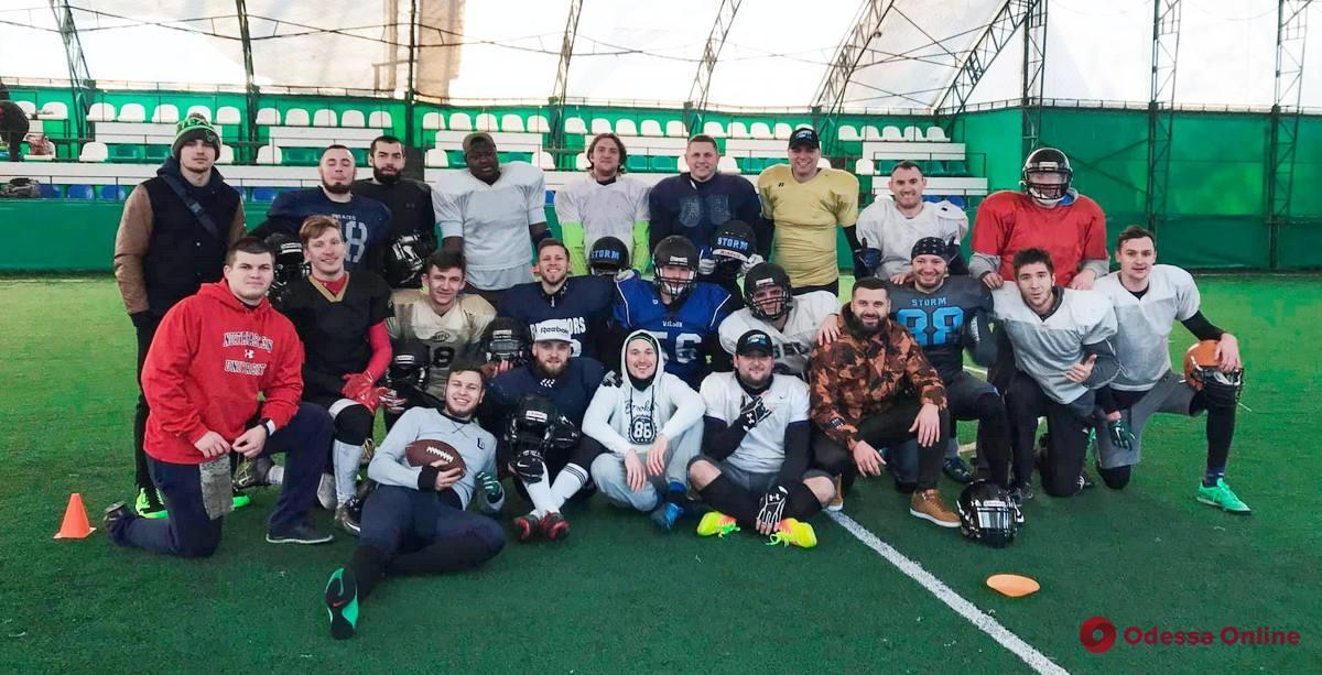 Американский футбол: одесская команда сыграет в топ-дивизионе чемпионата Украины