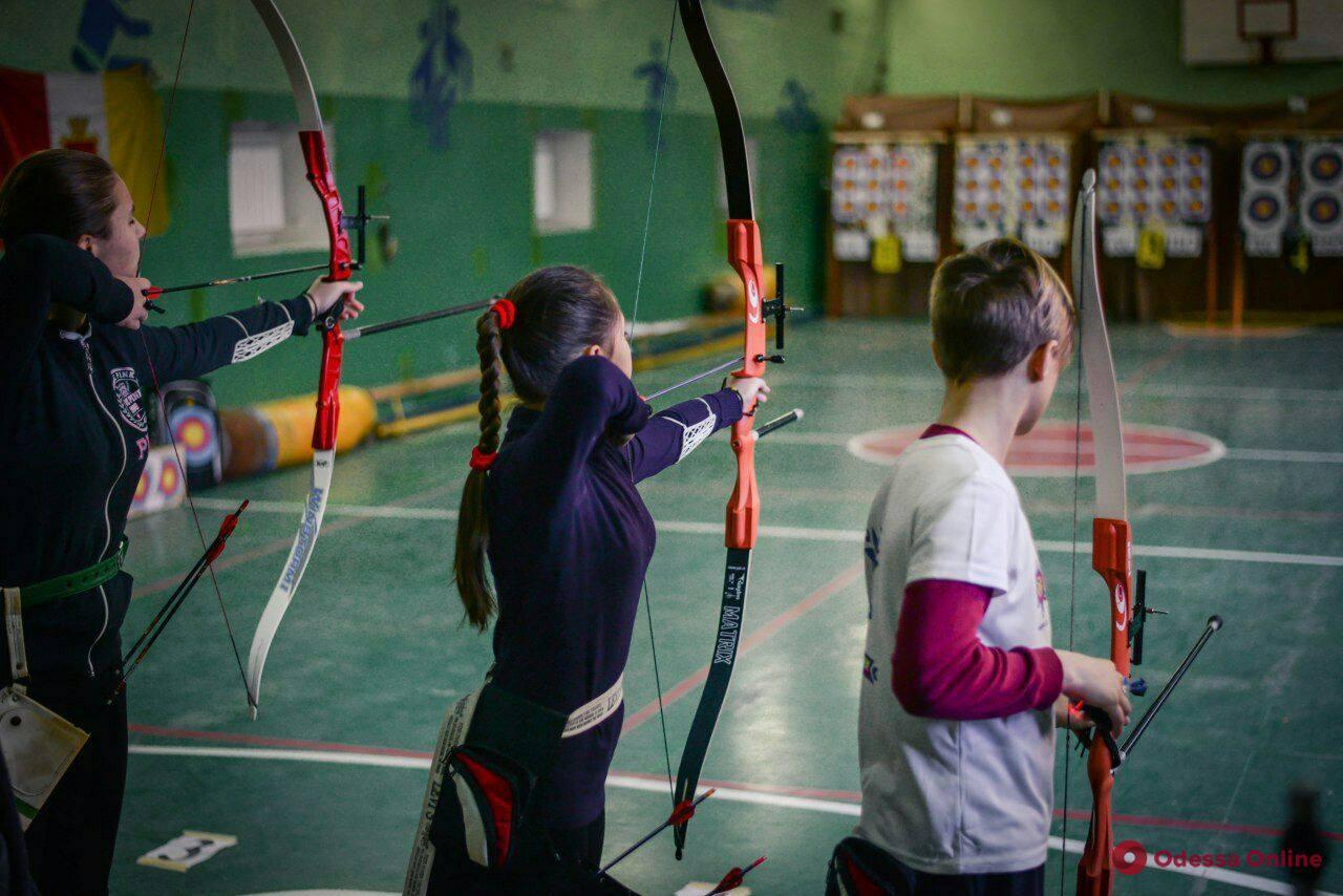 В Одессе прошел чемпионат области по стрельбе из лука в помещении
