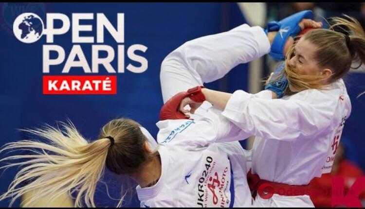 Одесситка завоевала «золото» престижного международного турнира по каратэ